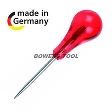 Felo 4-1/2 in. Scratch Awl Leather Punch Tool Palm Ball Handle Made in Germany