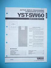 Service Manual für Yamaha YST-SW60 ,ORIGINAL