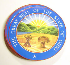 The Great Seal of the State of Ohio Sticker - 8 Inch Large - Wall Etc