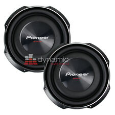 """(2) Pioneer TS-SW3002S4 Car 12"""" TS Shallow Thin Subs SVC 4ohm Subwoofers 3,000W"""
