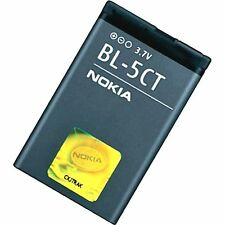 ORIGINAL NOKIA BL-5CT BATTERY 3720 5220 5630 6303 6730 C3 C3-01 C5-00 C6-01