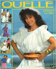 ▬► Catalogue QUELLE Printemps-Eté 1984  Mode  Fashion TTBE