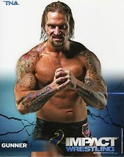 "GUNNER TNA IMPACT WRESTLING PROMO PHOTO 8x10"" wwe P-17"