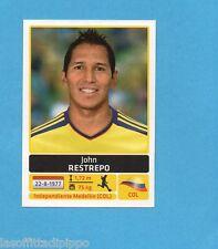 COPA AMERICA 2011 ARGENTINA-Figurina n.55- RESTREPO -COLOMBIA-NEW BLACK