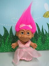 """SLEEPING BEAUTY WITH EYES THAT CLOSE  - 5"""" Russ Troll Doll - Very Rare"""