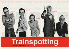 Trainspotting - Original Japanese Chirashi Mini Poster B - Danny Boyle