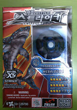 MEGA BLOKS BATTLE STRIKERS METAL XS TURBO TOPS MEGALODON.XS TEAM PREDATOR #29790