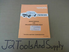 *Genuine Toyota TERCEL Repair Manual for Collision Damage 98367E