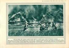 1915 German Soldiers Surrounded Salvage Village