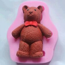 Teddy Bear Silicone Fondant Cake Mold Chocolate Soap Clay Cake Decorative Mould