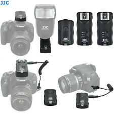 JJC Receiver*2 Wireless Remote Control & Flash Trigger For Canon Nikon Speedlite