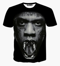 Jay Z BESTIA T-SHIRT [ Fresh Dope Swag Smart Casual Street hip-hop BASKET ]