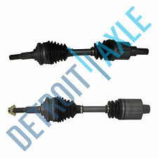 2 Front Driver and Passenger Side CV Axle Shaft 4 Speed Chevy Pair Made in USA