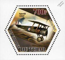 WWI RFC/RAF SOPWITH CAMEL Biplane Fighter Aircraft Stamp