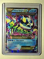 Pokemon card - Primal Kyogre EX XY Clash Set 55/160 1st Mega Ed BW Edition Holo
