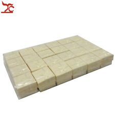 Wholesale Lot 24pcs Yellow Square Jewelry Ring Gift Cardboard Box 4X4X3CM