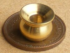 1:12 Scale Brass Cuspidor (Spittoon) Dolls House Miniature Pub Bar Accessory