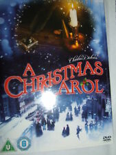 A CHRISTMAS CAROL George C. Scott DVD NEW & SEALED  with slipcase
