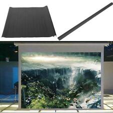 "100"" 16:9 Portable Home Projector Projection Screen Theatre Cinema HD TV Fabric"