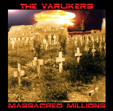 VARUKERS 'Massacred Millions' hardcore UK punk CD new sealed Fall Out Rat