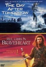 DvD THE DAY AFTER TOMORROW + BRAVEHEART 2 DvD.....NUOVO