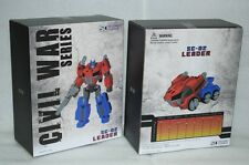 New Transformers FWI TOY SC-02 Leader FOC Optimus Prime Figure In Stock