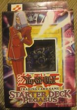 YuGiOh Pegasus Starter Deck New Factory Sealed 1st Ed. Rare Mint Condition!!