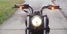 NEW Harley Davidson LED Turn Signal Lever Set softail dyna black