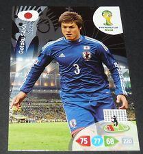GOTOKU SAKAI JAPON NIPPON FOOTBALL CARD PANINI FIFA WORLD CUP BRASIL 2014