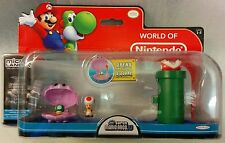Mario Bros Universe Micro Land Wave 2: Red Toad and Sparkling Water Playset,
