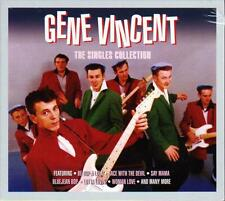 GENE VINCENT - THE SINGLES COLLECTION (NEW SEALED 3CD)