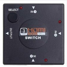 3 Port 1080P Video HDMI Switcher with Audio input Splitter for HDTV DVD