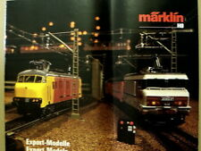 Catalogo MARKLIN Export Models in scala H0 1989-90 - ENG DEU FRA [G99A]