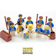 LEGO PIRATES! Bluecoats Minifigure collection - Blue Coat Soldiers (10 figures)