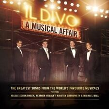 IL DIVO - A MUSICAL AFFAIR  CD + DVD  INTERNATIONAL POP  NEU