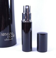 Giorgio Armani Code Ultimate Eau de Toilette 6ml Travel Spray Men's EDP 0.20oz