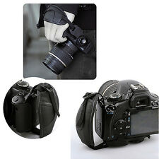 Camera Hand Grip for Canon EOS Nikon Sony Olympus SLR/DSLR Leather Wrist Strap m
