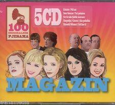 MAGAZIN 5 CD Box 100 originalnih pjesama Hit Tonci Danijela Jelena Rozga Croatia
