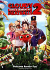 Cloudy With a Chance of Meatballs 2 (DVD, 2014, Includes Digital Copy; UltraViol