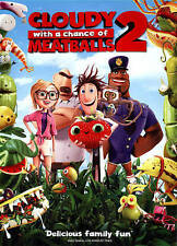 Cloudy With a Chance of Meatballs 2 (DVD MOVIE) BRAND NEW