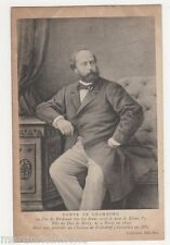 France, Comte de Chambourd ND Postcard, B426