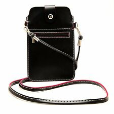 PU Leather Shoulder Bag Purse Pouch For iPhone 7 Plus / Samsung Galaxy S7 Edge