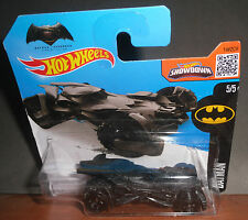 Mattel HOT WHEELS Batman VS Superman Dawn Of Justice Batmobile 5/5 Showdown 2016