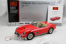 CMC 1:18 scale Ferrari 250 GT SWB California Spider 1960 Red (M-091) RETIRED!