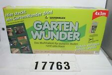 GARTENWUNDER Kunststoff Netz Schutznetz Gartenzaun Ladungssicherung 4mx3m #17763