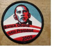 LOT of 3 Presidential barack obama 44th president - 2009 patch - Embroidered
