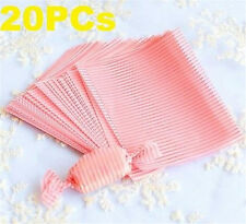 FD3831 Elegant Stripe Baking Nougat Candy Wrapping Waxed Paper Waterproof 20PC ♫