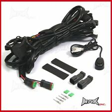 Complete Spotlight Spot Fog Light Wiring KIT Fits: Holden Rodeo Crewman Colorado