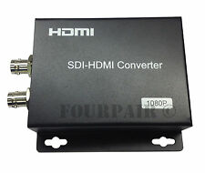 HD-SDI to HDMI Converter Repeater Loop Thru CCTV BNC Security Camera Monitor DVR