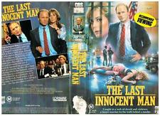 THE LAST INNOCENT MAN  *RARE VHS TAPE*  1986.  CBS/FOX,  ED HARRIS